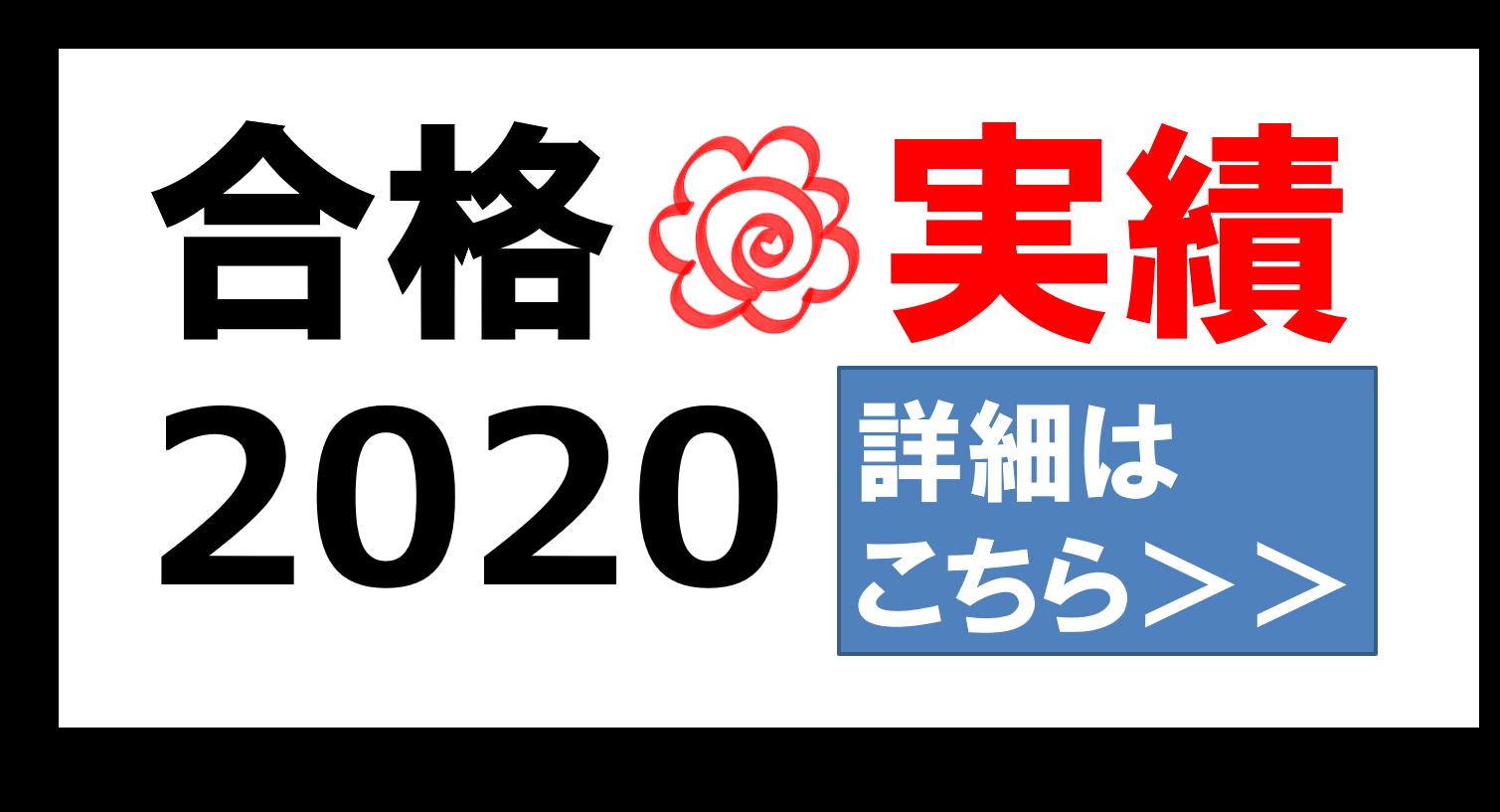 合格実績2020-2